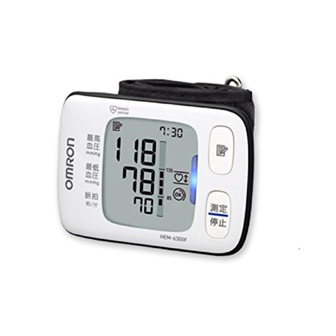 毒液大陸入場料オムロン 電子血圧計 手首式 HEM-6300F