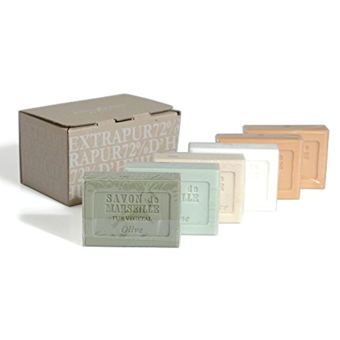 ピンポイントポンド許容Plantes&Parfums [プランツ&パルファム] マルセイユソープセット 6pcs.