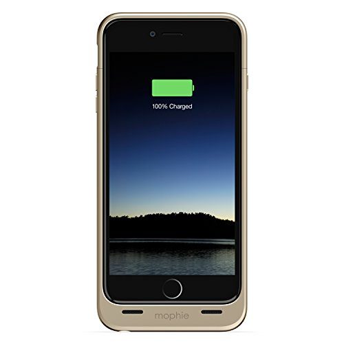 MOPHIE iPhone 6 Plus用 Juice Pack 高耐衝撃/バッテリー内蔵 (2600mAh・ゴールド) MFi認証 3086_JP-IP6P-GLD