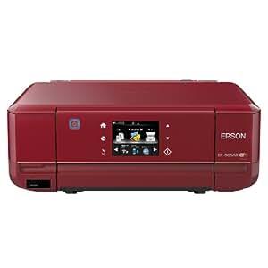 EPSON インクジェット複合機 Colorio EP-806AR 無線 有線 スマートフォンプリント Wi-Fi Direct レッド