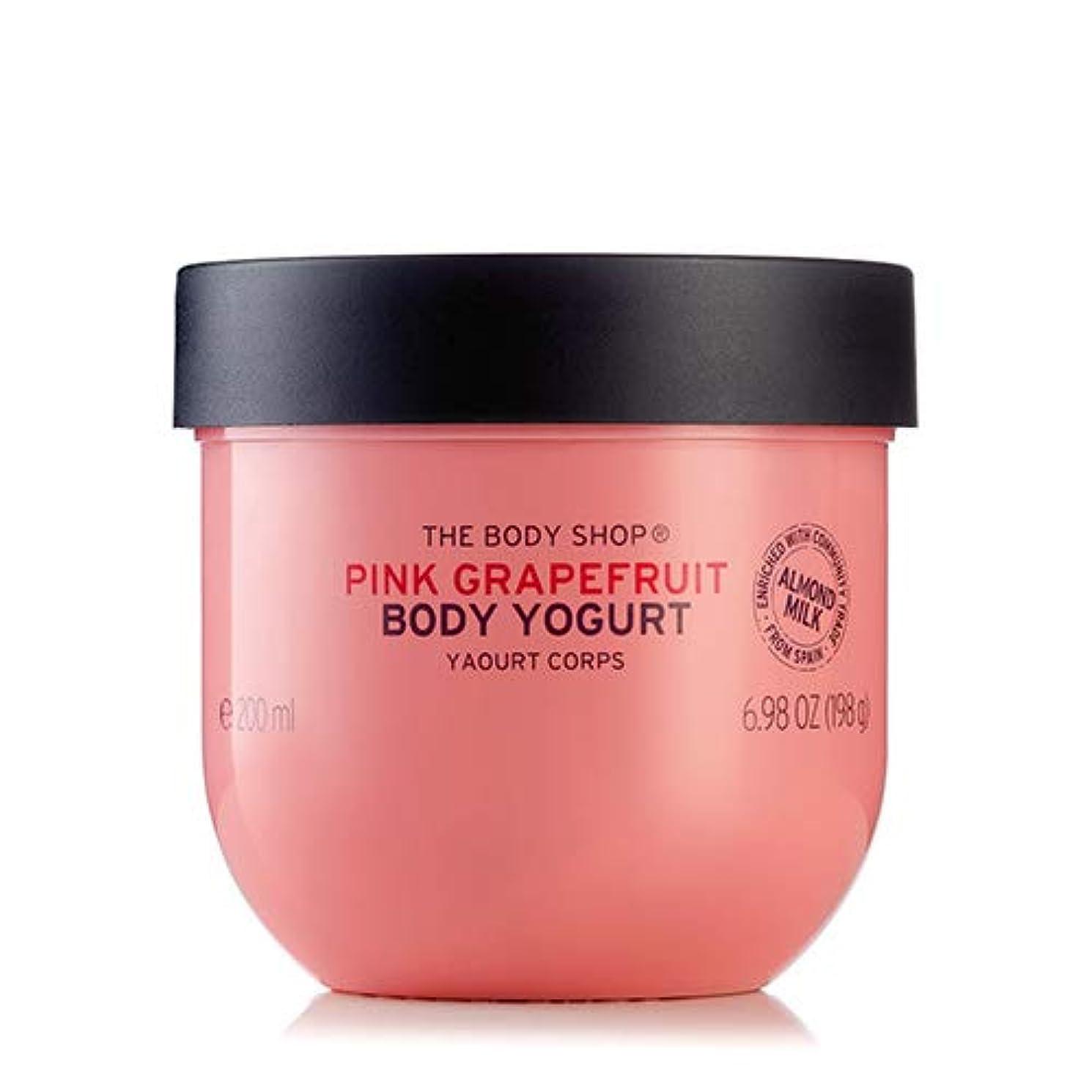 輝く矛盾する薄暗い正規品 ボディヨーグルト ピンクグレープフルーツ200ml THE BODY SHOP ザ?ボディショップ