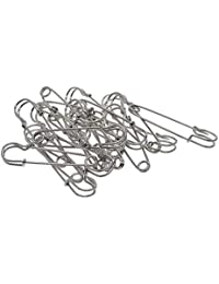 IPOTCH 20pcs Large Metal Strong DIY Kilt Scarf Hijab Brooch Safty Pins Jewelry Brooch Breastpin - Catch Scarf,Lapel or Collar