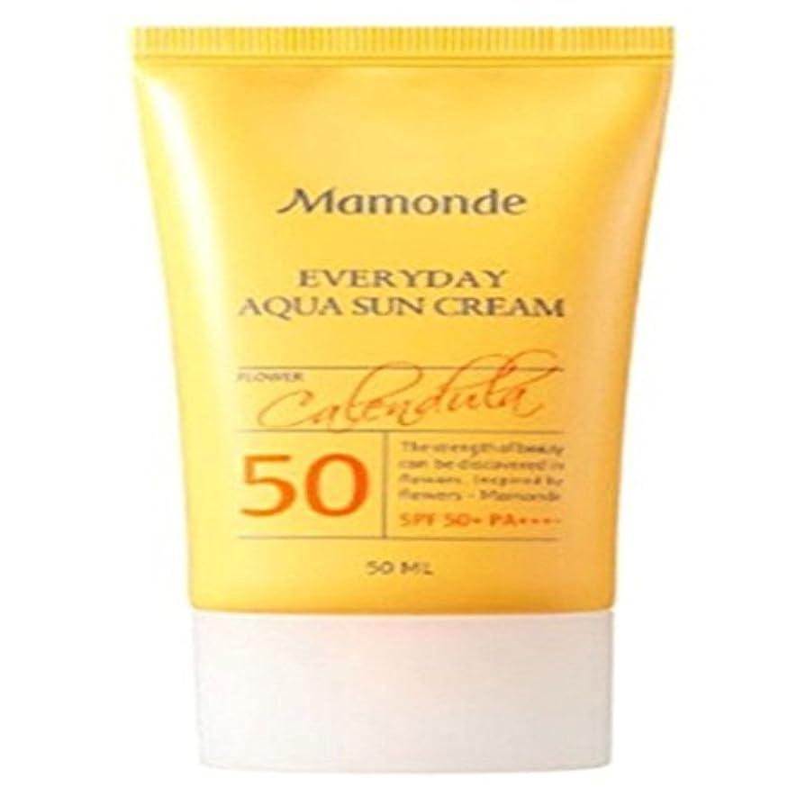 動揺させる福祉非難[Mamonde] マモンドゥエブリデーアクア日焼け止めクリームSPF50+PA++++、紫外線遮断剤、水分爆弾、デイリー、日焼け止め、強く遮断[並行輸入品]