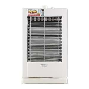 TEKNOS 2秒速暖 首振り機能搭載 ハロゲンヒーター PH-1211(W)