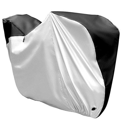 Eastshining 最新版 自転車カバー メガカバー 前後子供乗せ専門用 防水 210D 厚手 防犯 UVカット 風飛び防止 破れにくい 収納袋付き 29インチまで対応