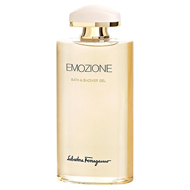 育成スマッシュ熱狂的なサルバトーレ?フェラガモEmozioneシャワー&バスジェル200Ml (Salvatore Ferragamo) - Salvatore Ferragamo Emozione Shower & Bath Gel 200ml...