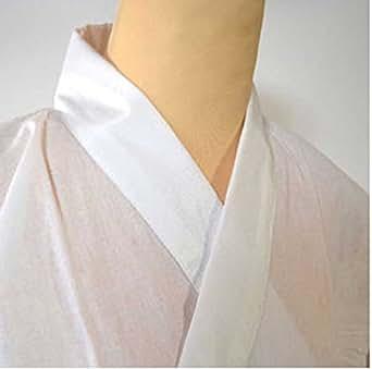 メンズ 半衿付男性肌襦袢 3サイズ2色 /M 白