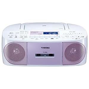 東芝 CD対応ラジカセ(ピンク)TOSHIBA TY-CDS7-P