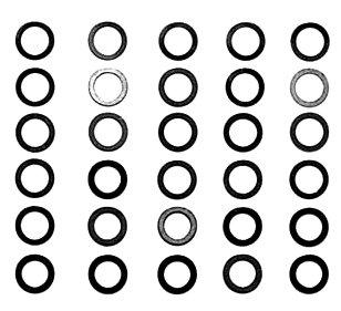 HOP-UP OPTIONS OP-586 φ4mmシムセット