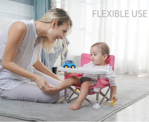 Portable Baby Chair - Summer Chair | Booster | Light & Compact | Outdoor Chair | Lounge Chair