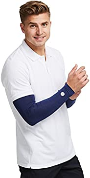 Solbari UPF 50+ Sun Protection Arm Sleeves Sensitive Collection - Without Thumbholes - UV Protection, Sun Prot