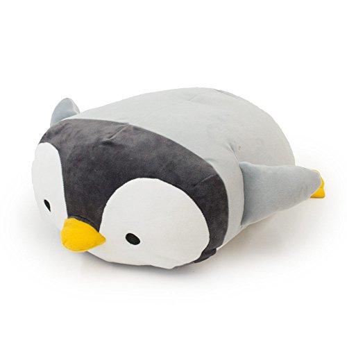 モフトピア オーシャン ひんやり クッション ペンギン アクア 抱き枕 アニマル 接触冷感 かわいい