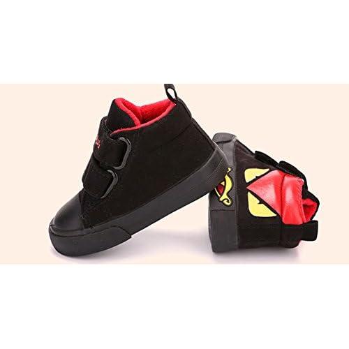 (チェリーレッド) CherryRed 子供靴 キッズ ジュニア 女の子 男の子 スニーカー 運動靴 軽い 可愛い 歩きやすい 人気 キャンバススニーカー 糸 冬 裏起毛 可愛い ブラック