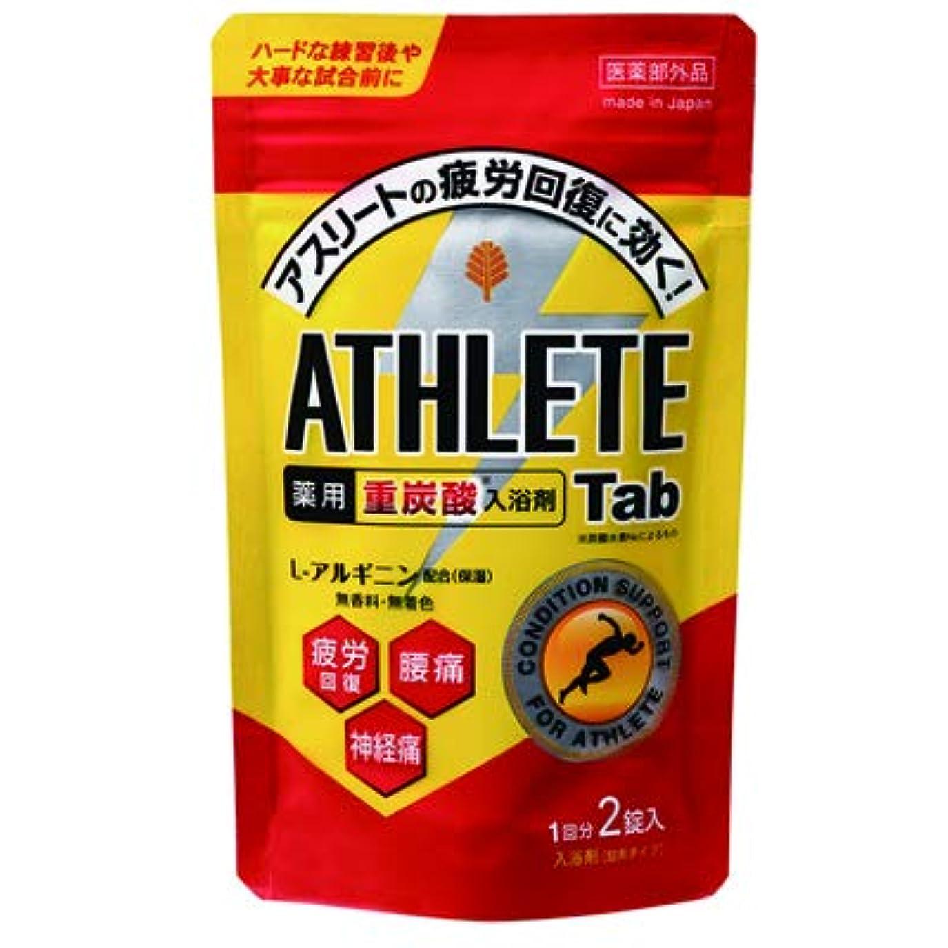認知中断ベーシックアスリート向け薬用スポーツ入浴剤(重炭酸イオン薬用入浴剤)2錠入(1回分) /日本製