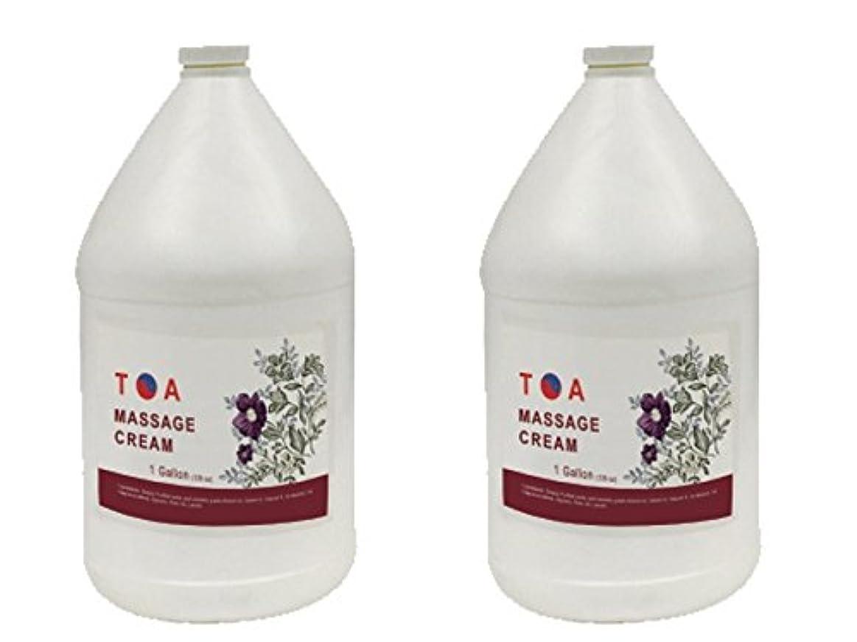 ホーンイデオロギー告発TOA Hydrating Body Spaマッサージの無香クリームケース2ガロン