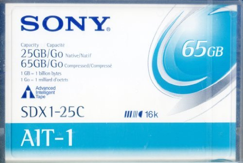 Sony SDX1-25C Advanced Intelligent Tape Data Cartridge 25/65 GB with Memory Chip (1-Pack) (Discontinued by Manufacturer) by Sony [並行輸入品]