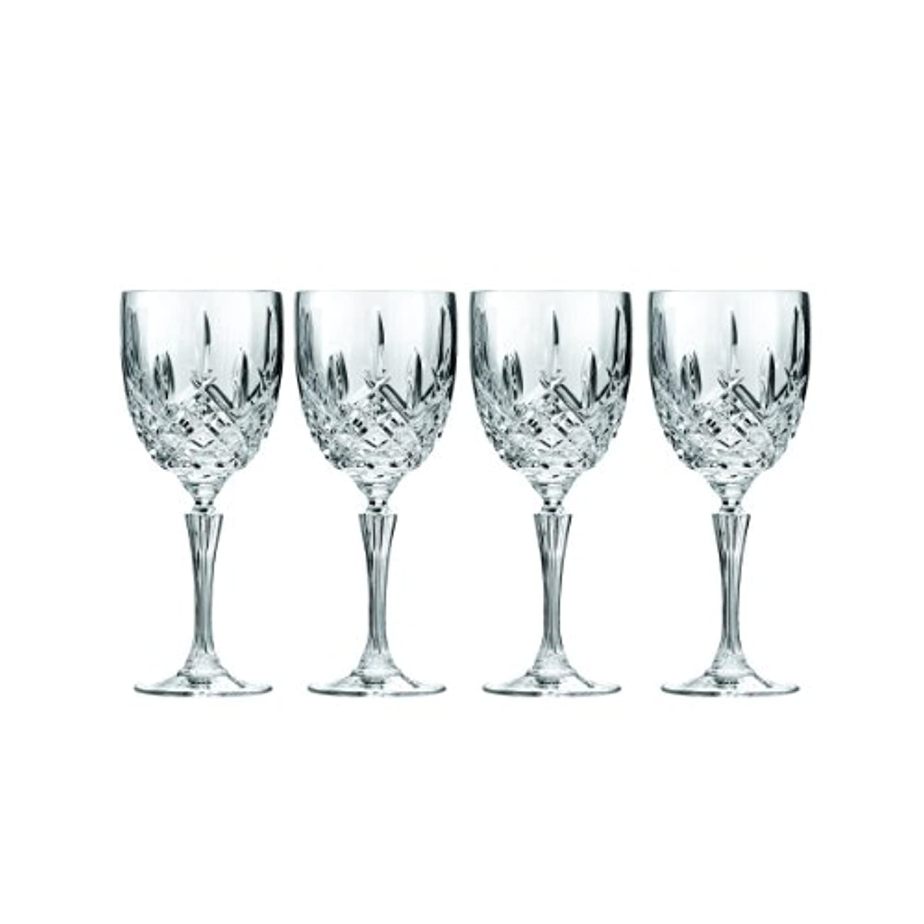 脅かす引き渡す明確なMarquis by Waterford Markham Goblet, Set of 4 by Marquis By Waterford