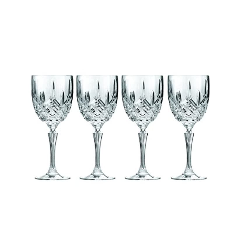 合併症夫婦貞Marquis by Waterford Markham Goblet, Set of 4 by Marquis By Waterford
