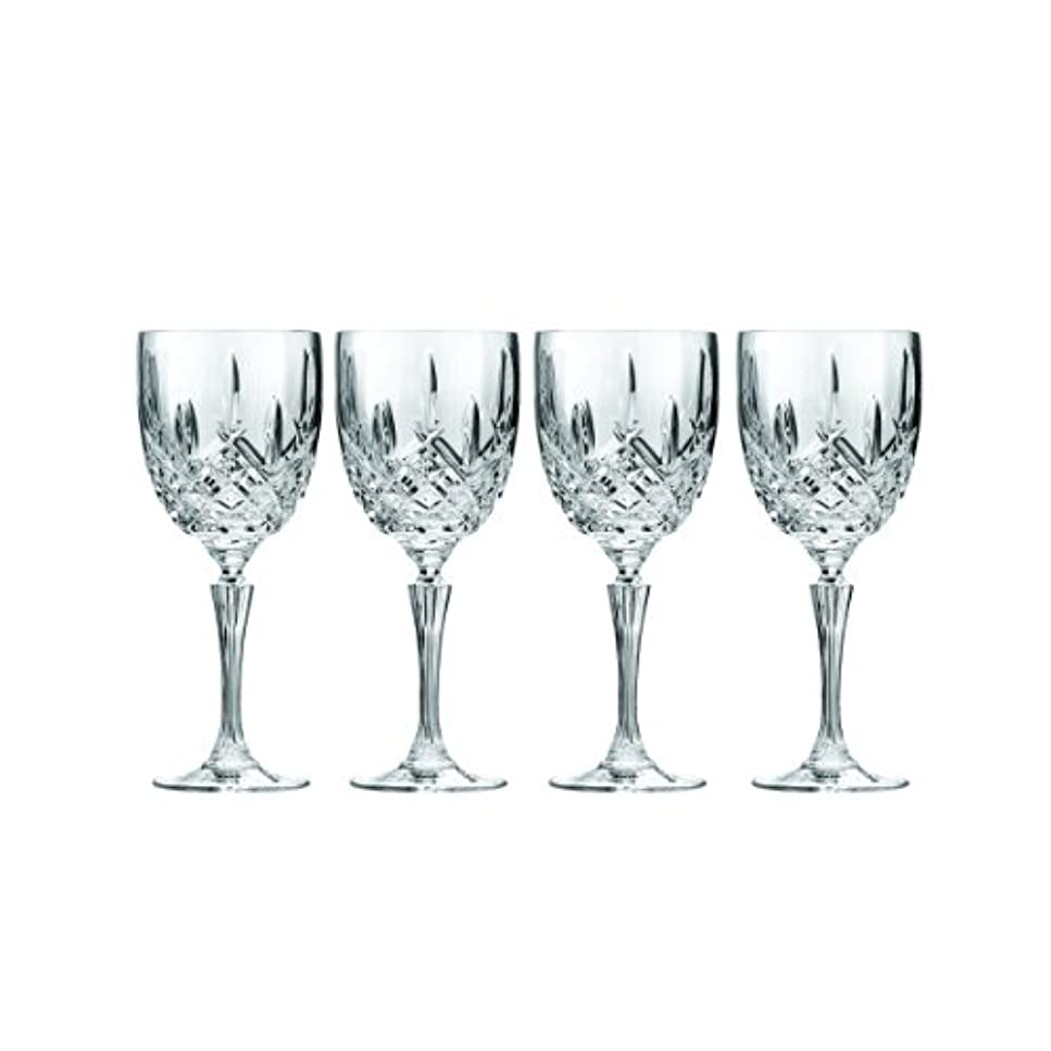 想定する溶けたつかいますMarquis by Waterford Markham Goblet, Set of 4 by Marquis By Waterford