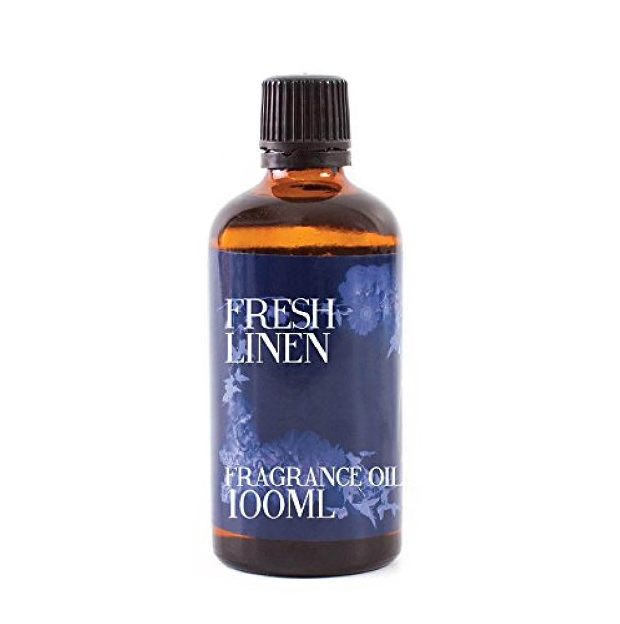 弱まる体現する重さMystic Moments   Fresh Linen Fragrance Oil - 100ml
