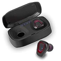 MJDUO ワイヤレス イヤホン Bluetooth片耳 両耳とも対応 左右独立型 充電ケース付 ブルートゥース イヤホン マイク内蔵 ハンズフリー通話 iPhone Android 対応 進化版 IPX5完全防水防汗防滴