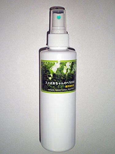 スエばあちゃんのへちま水(容量200ml・スプレータイプ)鹿児島県産・有機栽培(無農薬) ※完全無添加オーガニックヘチマ水100% ※商品のラベルはスエばあちゃんのへちま畑の写真です。ALCOS(アルコス) 天然へちま水 [200]