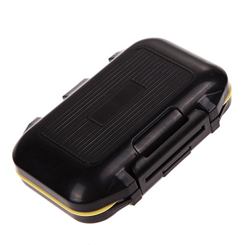 Chinatera Mens Fishing Lure Bait Tackle Waterproof Storage Box Case with 12 Compartments One Size Multi-Color