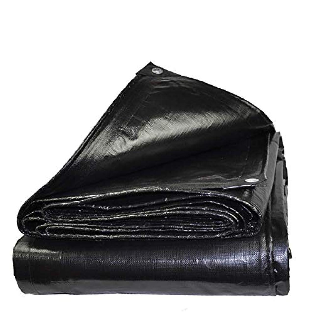 偏心環境保護主義者東方QING MEI 防水キャンバス10トン野菜小屋屋外キャンバス防水布、厚いトラックキャノピー断熱シェード22サイズ(カラー:ブラック) (Size : 1.5X2m)