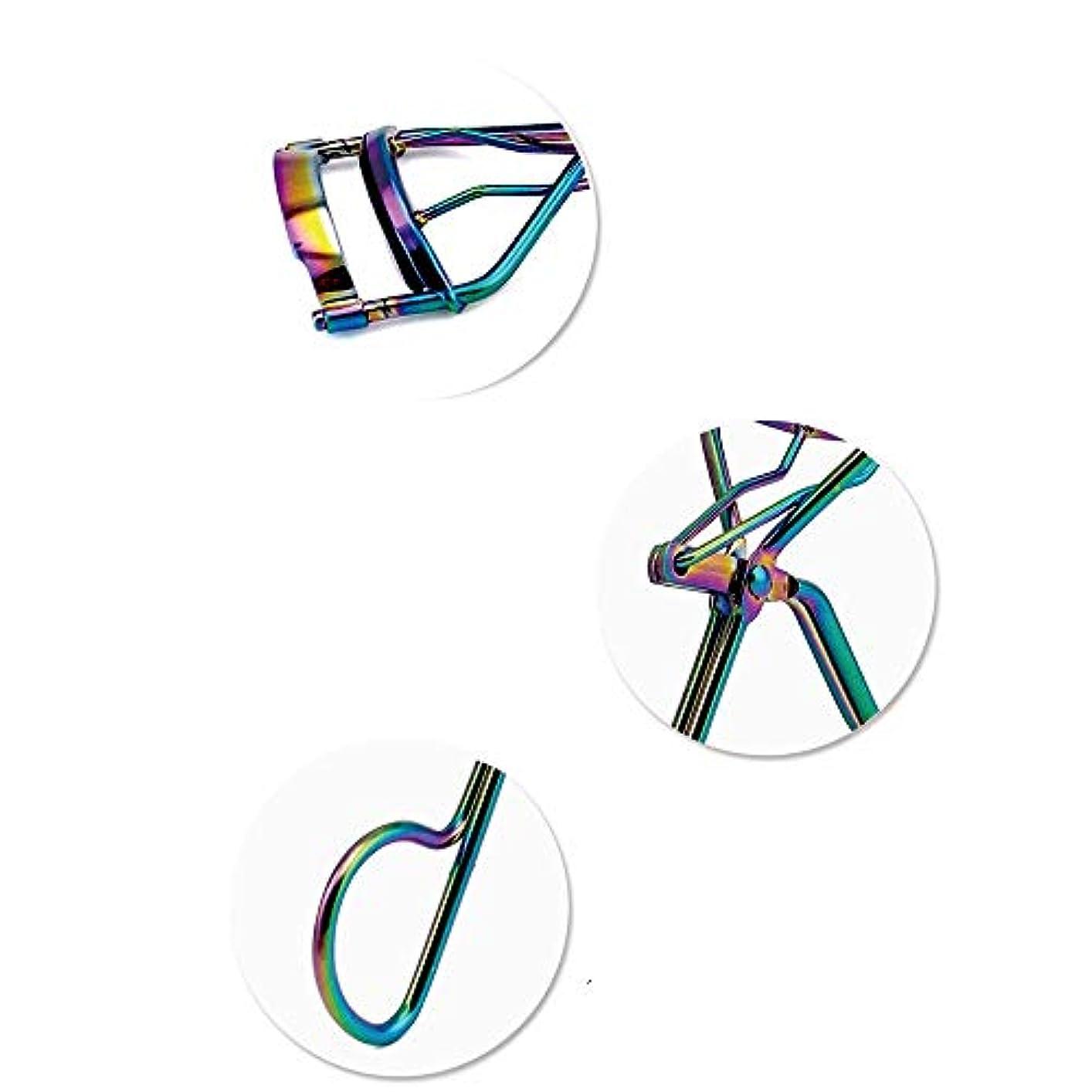 艶伝説発揮するプロフェッショナルハンドルアイカーリングまつげカーラークリップ美容メイクツール新機能