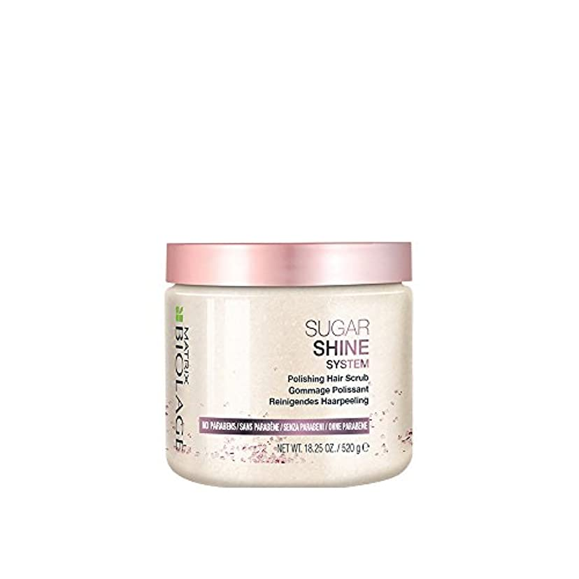 ブランド名入浴ピボットマトリックス Biolage Sugar Shine System Polishing Hair Scrub 520g/18.25oz