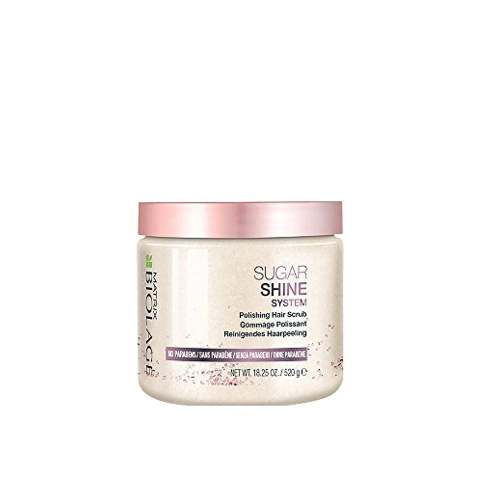 所持時間厳守結果としてマトリックス Biolage Sugar Shine System Polishing Hair Scrub 520g/18.25oz