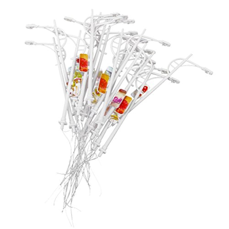 GRALARA モデル街灯 街灯柱 鉄道模型 LED街灯柱 LED 広告用 看板付き 街灯(1/100)
