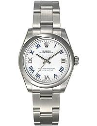 (ロレックス) ROLEX 腕時計 パーペチュアル 177200 ホワイトラッカー ローマ ボーイズ [並行輸入品]