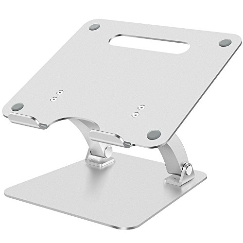 Nulaxy ノートパソコンスタンド PCスタンド 折り畳み式 高度・角度自由調整可能 6KG荷重可能 放熱対策 滑り止...