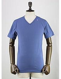 SWEEP!! スウィープ!! メンズ コットン 半袖 VネックTシャツ V-neck Marine (ブルー)