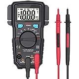 BSIDE ADM62 Auto-Ranging Digital Multimeter True RMS Dual Slot Home Automotive DMM Pocket Voltmeter Current V-Alert Resistance Diode Multi Meter Tester