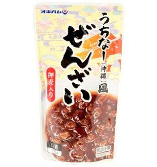 うちなー(沖縄)風 ぜんざい押麦入り  4袋