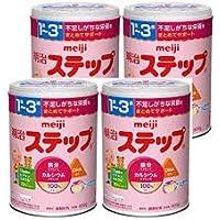 明治 meiji ステップ800g × 4缶パック (景品付き)