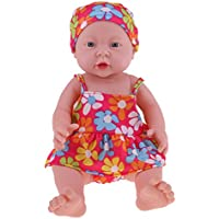 Baoblaze 抱き人形 ヌード 服付き 41cm 赤ちゃん人形 抱きドール ビニル製 新生児幼児 保育園おもちゃ 全8色 - #6