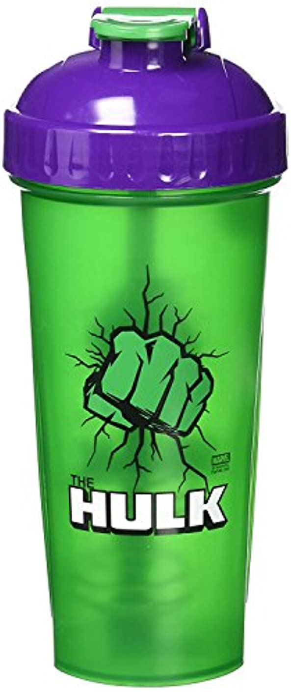 格差危険を冒しますエクスタシーPerfectShaker Hero Series Shaker Cup, Hulk, 28 Ounce by PerfectShaker