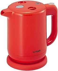 飲みたいときにサッと沸く! TIGER 電気ケトル 0.8Lオレンジ PFV-G080-D