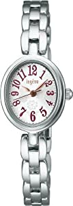 [アルバ]ALBA 腕時計 ingenu アンジェーヌ カーブ無機ガラス 日常生活用防水 AHJK404 レディース