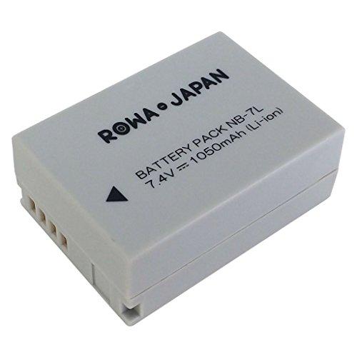 【ロワジャパン社名明記のPSEマーク付】キヤノン PowerShot G10 G11 G12 の NB-7L 互換バッテリー