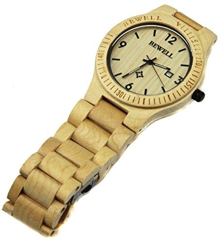62365dbb88 YFWOOD】 腕時計 木製 メンズ レディース 優しい木の温もりが生かした ...
