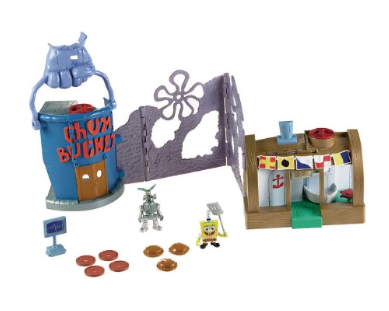 [Fisher-Price]スポンジボブ Krusty Krab プレイセット/Imaginext SpongeBob Krusty Krab Playset/[並行輸入品]