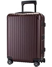 [ リモワ ] RIMOWA サルサ 37L 4輪 811.53.14.4 キャビンマルチホイール キャリーバッグ カルモナレッド SALSA Cabin MultiWheel matte carmona red スーツケース [並行輸入品]