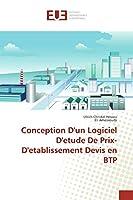 Conception D'un Logiciel D'etude De Prix- D'etablissement Devis en BTP