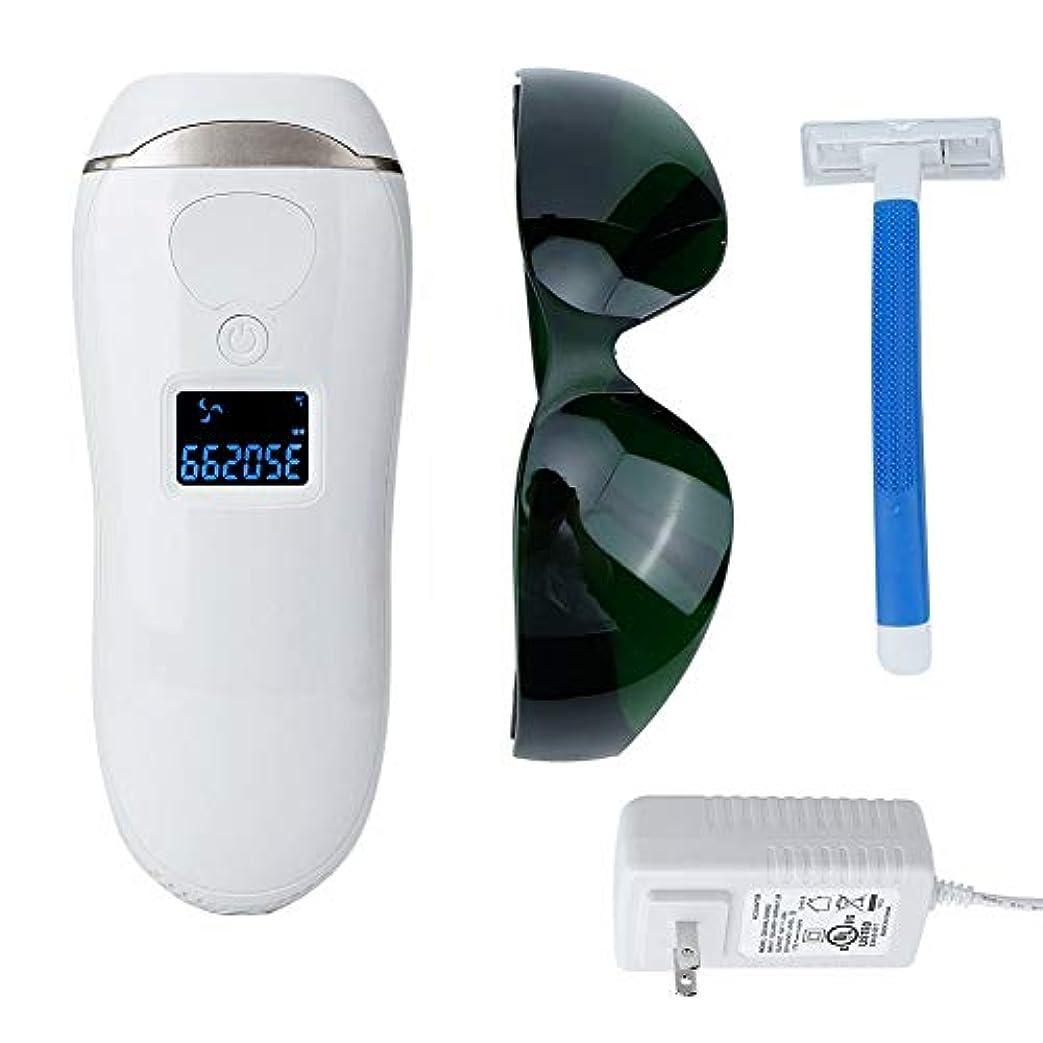 コア取り扱い令状永久的な毛は表面体のための機械男女兼用の痛みのない脱毛器装置を取除きます(100?240V)
