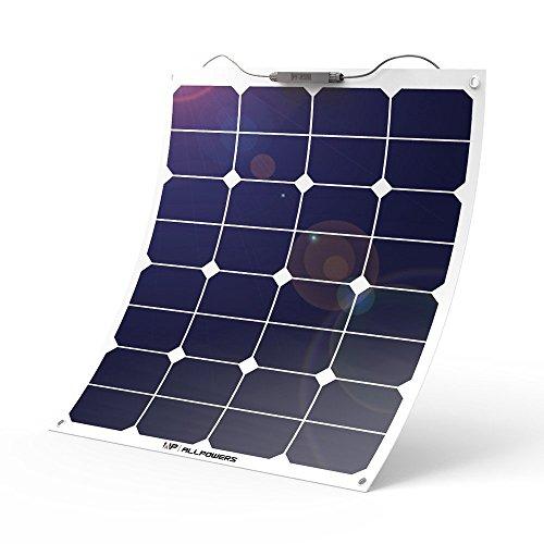 ALLPOWERS ソーラーパネル 12v 50w ソーラーチャージャー 18V 太陽光発電 25%変換効率 家電 ポータブル電源