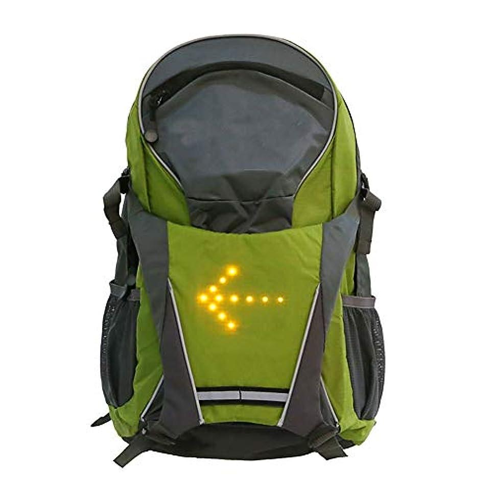 バスト貸すクールEsolom18L LEDバックパック ワイヤレスリモコンターンシグナル 警告灯USB充電バッグトラベルバックパックジムバッグ トラベルバックパックジムバッグ